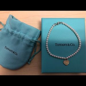 Tiffany & co.  Return to Tiffany pearl bracelet.